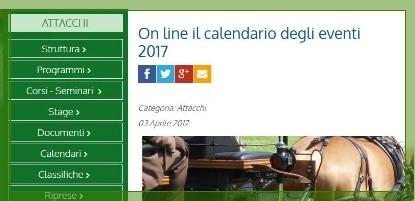Fise Piemonte Calendario.Cavalli E Carrozze Che Passione